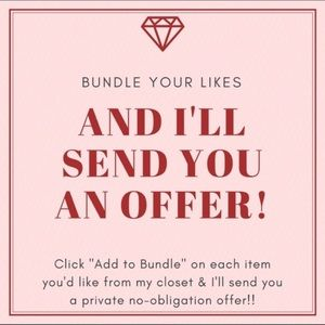 Bundle more than 1 item! let's make a deal!